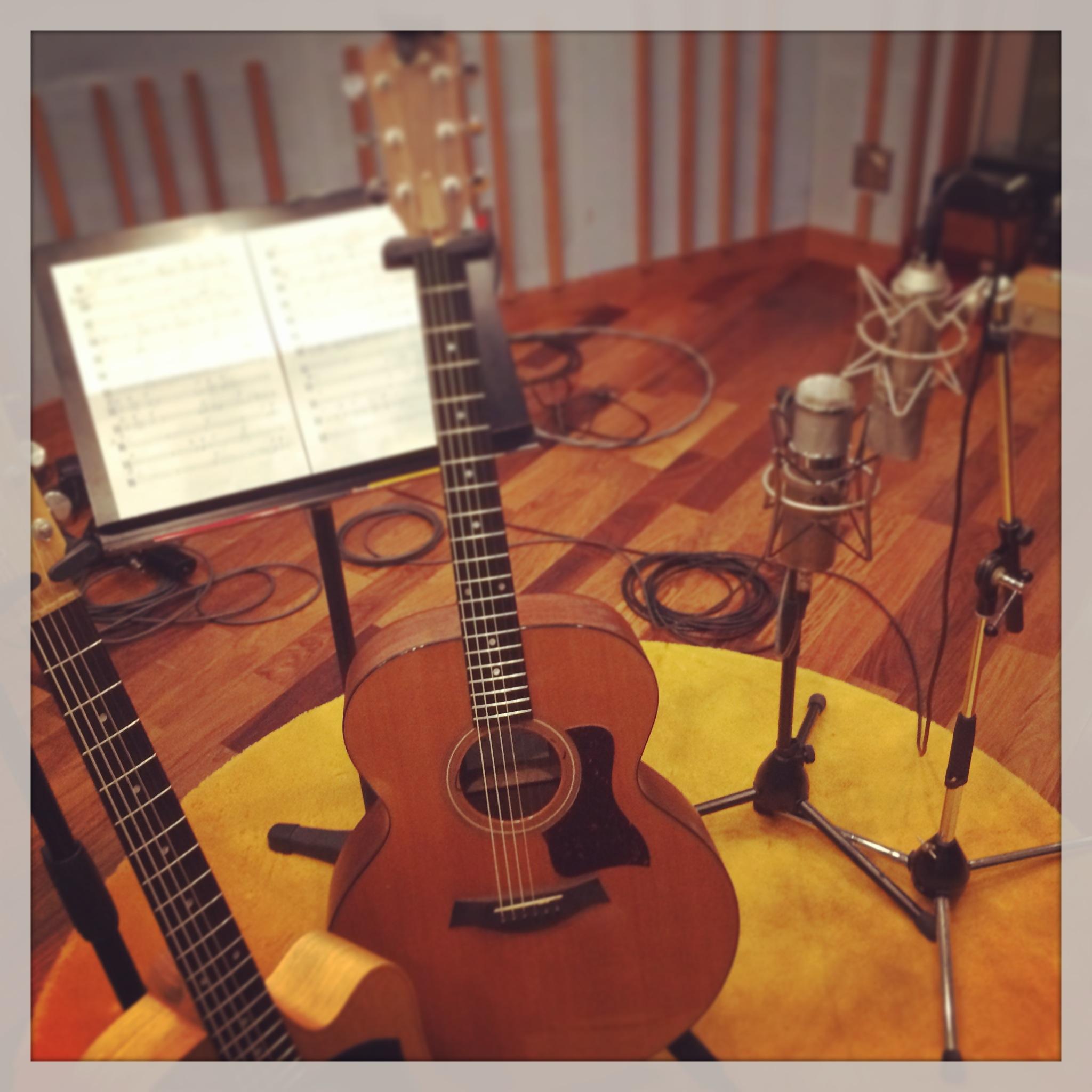 REC Taylor Guitar Recording LANTIS